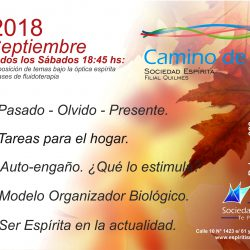 Quilmes charlas Septiembre